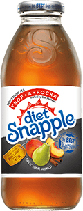 Diet Trop A Rocka 16oz Glass dry
