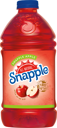 NEW!!! Snapple Apple